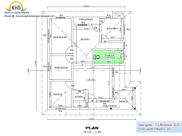 Small One Level House Plans by House Plan Elevation Sq Ft Kerala House Design Idea Isometric