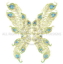 s5314b peacock feather butterfly wings butterflies isaacs designs