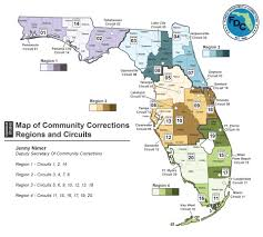 Stuart Florida Map by Community Supervision Offices