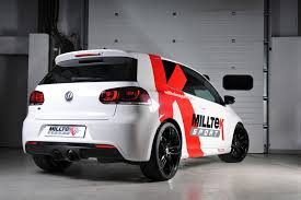 volkswagen golf custom volkswagen golf mk6 r 2 0 tsi 270ps milltek exhaust
