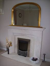 2017 popular gold mantle mirrors