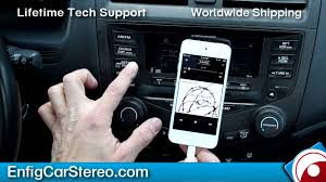 2003 honda accord radio for sale aux ipod iphone honda accord 2003 2007 enfig hon03 ipdc aux