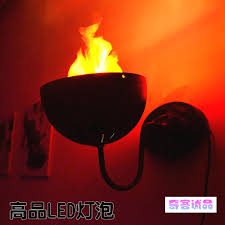 aliexpress com buy led flame light halloween decoration lamps