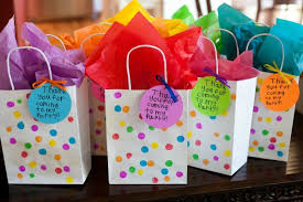 party favor bags and usable themed birthday party favors evolving motherhood