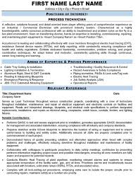 Technician Resume Examples by Technician Resume Sample U0026 Template