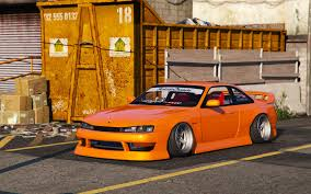 custom nissan 240sx s14 nissan silvia s14 kouki bn sports replace gta5 mods com