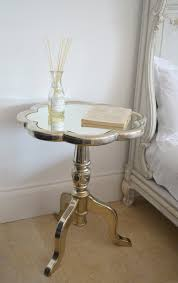 Mirrored Furniture Bedroom Ideas Furniture Mirrored Accent Table With Four Drawers For Bedroom