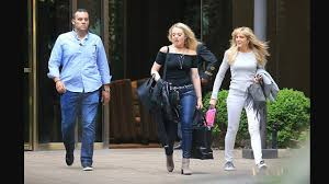 Trump S Apartment Tiffany Trump And Marla Maples Leave Their Apartment With A Secret