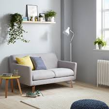 Small 2 by Buy John Lewis Archie Small 2 Seater Sofa Light Leg Saga Grey
