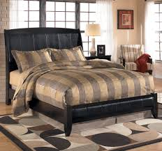 King Platform Bed With Upholstered Headboard by Queen Upholstered Sleigh Headboard With Platform Style Footboard
