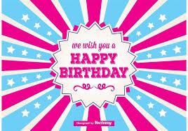 happy birthday card download free vector art stock graphics