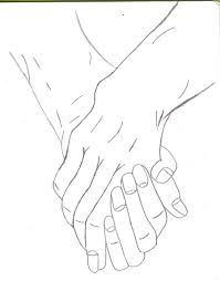 two people holding hands by kittyness21 on deviantart