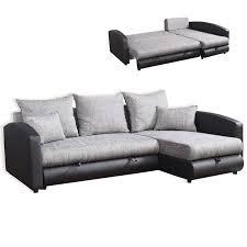 couch schwarz grau ecksofa schwarz grau mit liegefunktion ecksofas l form