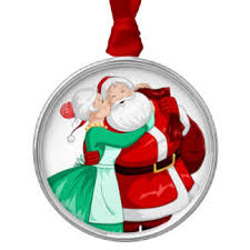 mr and mrs claus ornaments keepsake ornaments zazzle