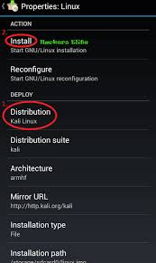 harsh sharma install linux backtrack on android device