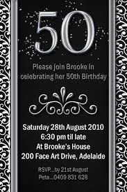 black and white birthday invitation template free