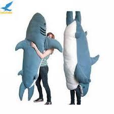 Shark Bean Bag Fancytrader Shark Sleeping Bag Beanbag Sofa Bed Plush
