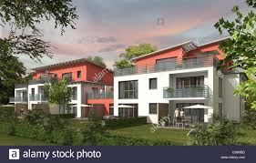 Multifamily Home Architecture Modern Multi Family Houses Services Home Houses Stock