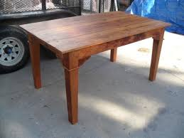 Dining Room Tables Made In Usa Hand Crafted Custom Dining Table Made From Reclaimed Wood Custom
