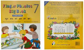 buy finger phonics big books 1 7 in print letters book online at