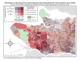 Property Value Map Analysis U0026 Results Immigration And Real Estate In Vancouver A