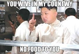 No Soup For You Meme - kim jong the food nazi imgflip