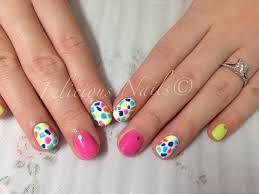 finger paints nail color nails art ideas
