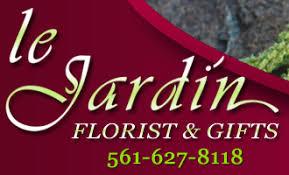 florist palm beach gardens u0026 north palm beach flowers le jardin