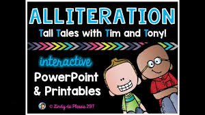 Ereading Worksheets Point Of View Alliteration Powerpoint Activities Preview Youtube