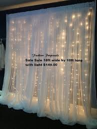 lighted curtains curtain light led manufacturer lights canada