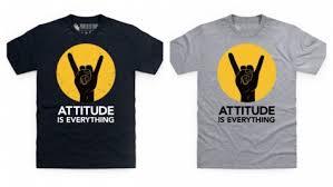 tshirt design new t shirt design attitude is everything