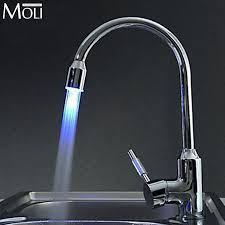 led kitchen faucet 13 best led kitchen faucets images on bathroom sink