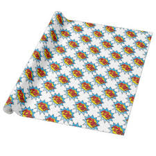 superman wrapping paper superman wrapping paper zazzle
