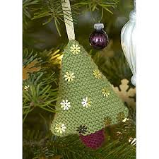 free knitted tree decorations patterns rainforest