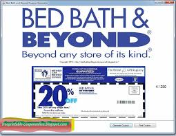 Bed Bath Beyond In Store Coupon Printable Coupons 2017 Bed Bath And Beyond Coupons