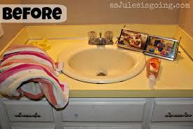 diy bathroom countertop ideas diy bathroom tips for as jules is going