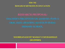 my research proposal ppt