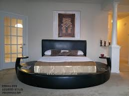 High Bed Frame Queen Round Beds