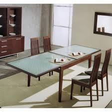 Glass Dining Room Tables With Extensions - Glass dining room table with extension