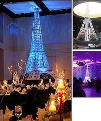 eiffel tower decorations eiffel tower party rentals moulin theme party decor