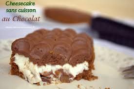 cuisine simple et rapide cheesecake sans cuisson au chocolat amour de cuisine