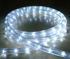 white led outdoor rope light with 8 functions chasing static