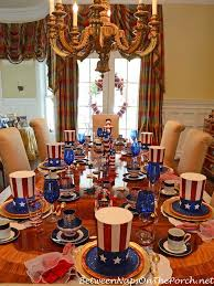 Fourth Of July Table Decoration Ideas 4th Of July Patriotic And Independence Day Party Table Settings
