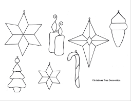printable tree ornaments free for