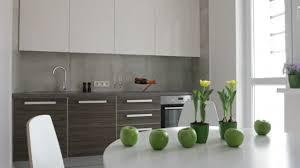 mouvement cuisine 4 k intérieur de cuisine moderne dans un style scandinave vue