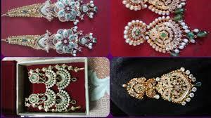rajputi earrings goldn earrings indian design new fancy rajputi earrings design