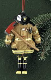 firefighter ornaments firefighter turnout gear