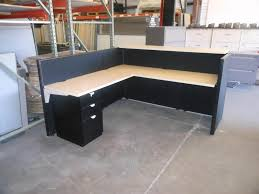Corner Reception Desk by Home Office Desks Straight Desks Phoenix Office Desk With Doub