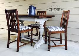 1940s Dining Room Furniture Sold Vintage 1940 U0027s Oak Dining Table And 4 Chairs