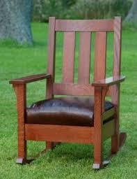 mission oak living room chair foter